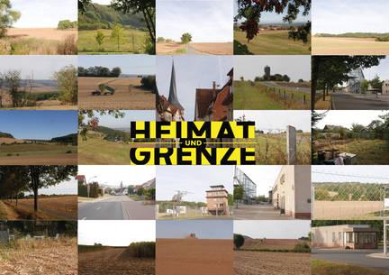 Postkarte des Projektes Heimat und Grenze