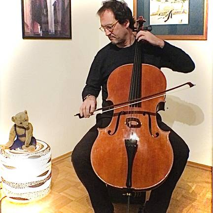 Leipziger Cellist live podcast tiny concert series